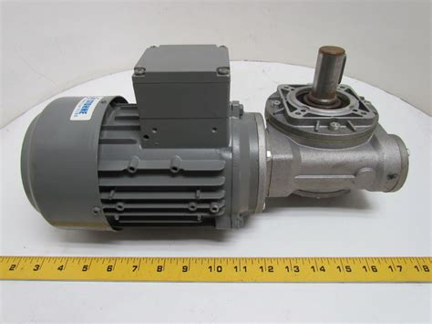 Electric Motor Gearbox johnson teknik a s 43kw 58hp 230 400 460v electric motor