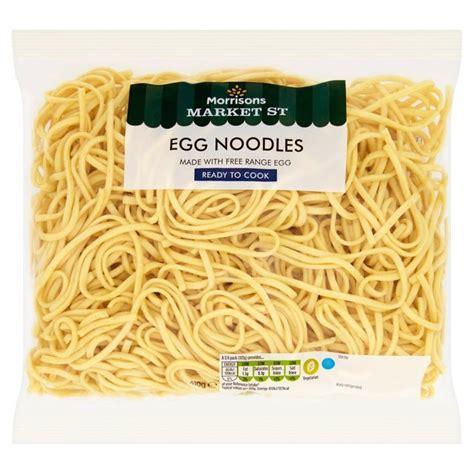 egg noodles morrisons morrisons free range egg noodles 410g product information