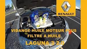Capacité Huile Moteur : vidange huile moteur laguna 3 2 0 dci 150 cv youtube ~ Medecine-chirurgie-esthetiques.com Avis de Voitures