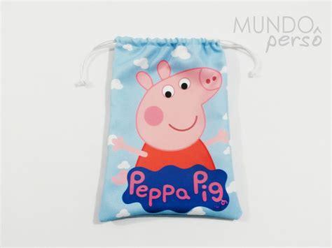 Sacolinha Luxo Grande Peppa Pig No Elo7
