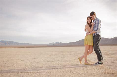 las vegas desert portraits sara  dylan austin
