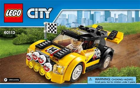 Bauanleitungen LEGO - City - 60113 - Rallyeauto