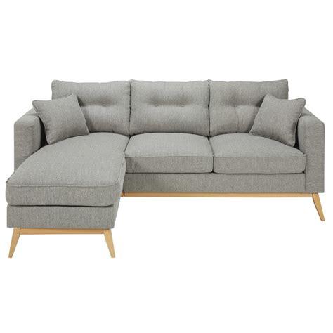 canapé d angle 5 places canapé d 39 angle modulable scandinave 4 5 places en tissu