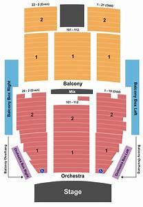 Metropolitan Theatre Seating Chart