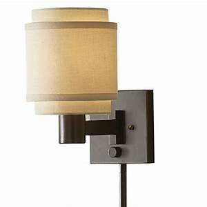 allen roth 10 1 8 in swing arm wall mounted lamp with With various ideas of wall mounted lamps