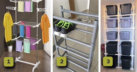 muebles hechos  tubos pvc adaptados  cada una de