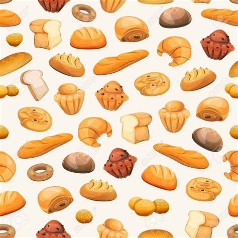 Pastry Clipart Bread Clipart Pastry Pencil And In Color Bread