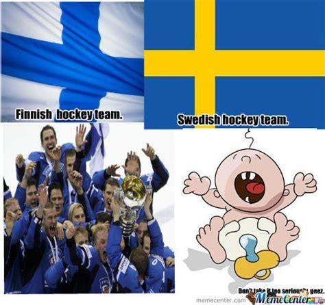 Finland No 1 Scandinavia Tops List Of S Finland Vs Sweden By Recyclebin Meme Center