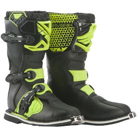 maverik motocross boots fly racing 2016 youth maverik mx boots enduro motocross