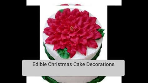 edible christmas tree decorations youtube