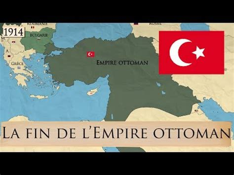 Carte De L Empire Ottoman En 1914 by La Fin De L Empire Ottoman