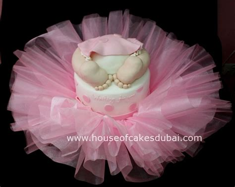 Baby Shower Ballerina Theme - tutu baby shower ballerina theme cake cakecentral