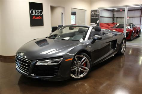 audi supercar convertible used 2015 audi r8 v10 convertible 5 2l automatic manual