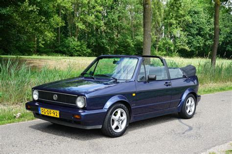 vw golf 1 cabrio volkswagen golf 1 1 8 cabrio 1992 catawiki