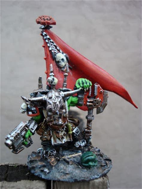 santa cruz warhammer ork  warboss conversion simple