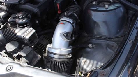 cold air intake kn youtube