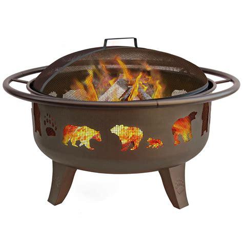 """Landmann 30"""" Fire Dance Fire Pit With Grate  588494, Fire"""