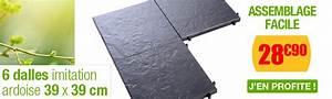 Dalle Plastique Exterieur : dalle clipsable en teck plastique ou pierre naturelle ~ Edinachiropracticcenter.com Idées de Décoration