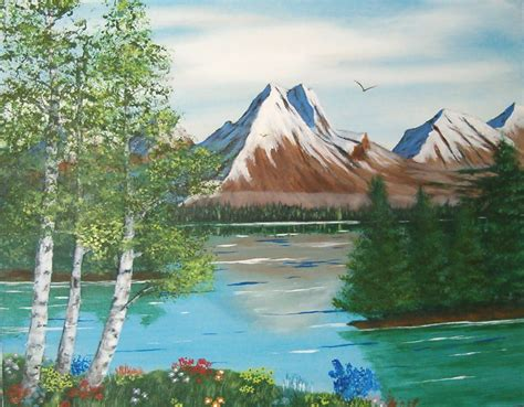 Mountain Pictures: Mountains Painting