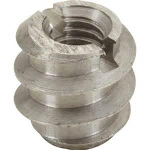 Insert A Bois Vissable : lot de 8 manchons visser acier brut hettich l 8 mm ~ Melissatoandfro.com Idées de Décoration