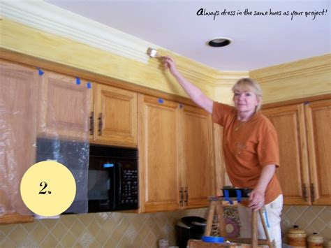 Kitchen Soffit Trim Ideas by What To Do With Kitchen Soffits The Colorful Beethe