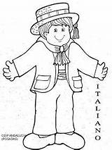 Coloring Pages Traditional Clothing German Germany sketch template
