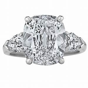 graff internally flawless d color 501 carat cushion cut With graff wedding rings