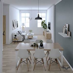 Scandinavian, Apartment, U2013, Interior, Design