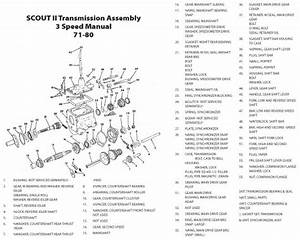 Scout Connection Clutch  Transmission  U0026 Propeller Shafts Page
