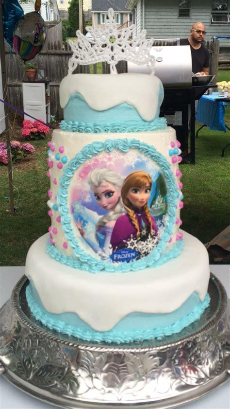 """frozen"" Theme Birthday Cake Cakecentralcom"