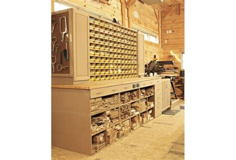 space saving hardware bin storage