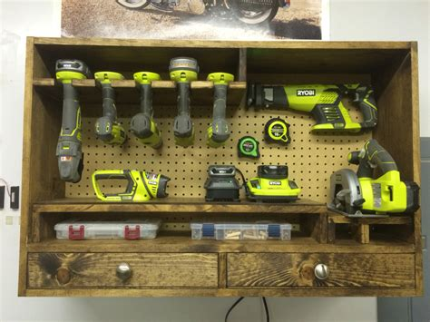 power tool storage plans depols plans bench wood