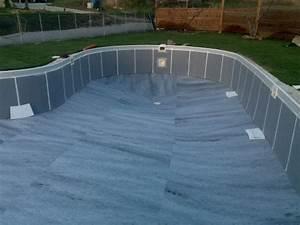 Tapis Sous Piscine : tapis de sol construction de ma piscine waterair ~ Melissatoandfro.com Idées de Décoration