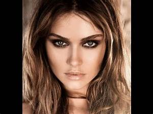 Couleur De Cheveux Pour Yeux Marron : maquillage yeux verts et cheveux chatain clair ~ Farleysfitness.com Idées de Décoration