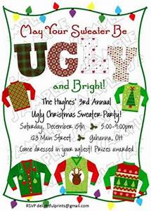Ugly Sweater Christmas Party on Pinterest