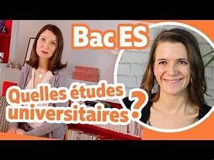 Apres Un Bac Es : quelles tudes universitaires apr s un bac es la minute parents youtube ~ Maxctalentgroup.com Avis de Voitures