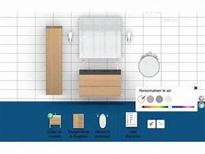 Sweet Home 3d En Ligne : salle de bain 3d en ligne cool awesome casto d rangement ~ Premium-room.com Idées de Décoration