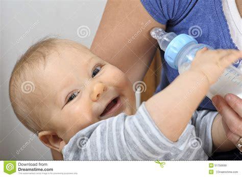 Baby Bottle Feeding Stock Photo Image 51756699