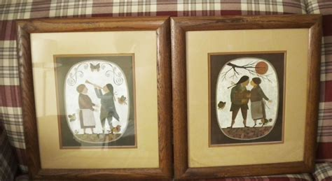 details   davey folk art print  bushel   peck