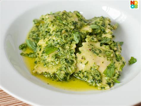 Pumpkin Ravioli Recipe Sauce by Ravioli Pesto Recipe