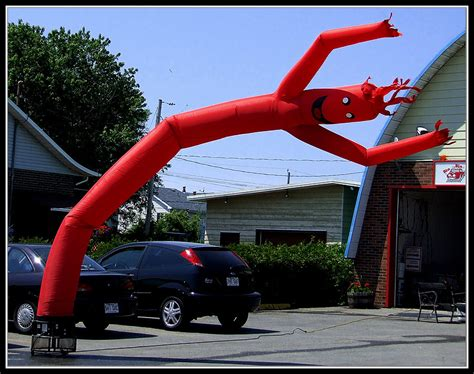 Inflatable Guy  Ee  Car Ee   Dealer Mpeake Flickr