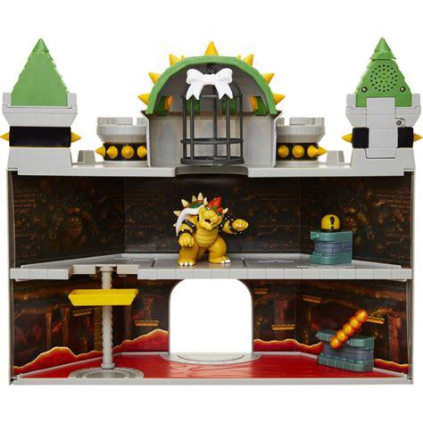 Nintendo Super Mario Deluxe 19 pc Bowser's Castle Playset ...