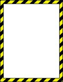 Caution Tape Border Clip Art