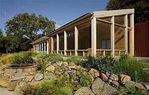 Reusing The Wood From Existing Log Structure For Sustainable House Design
