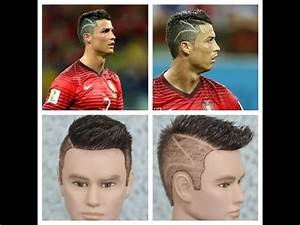 Cristiano Ronaldo Hairstyle 2014 Side Cut With Razored ...