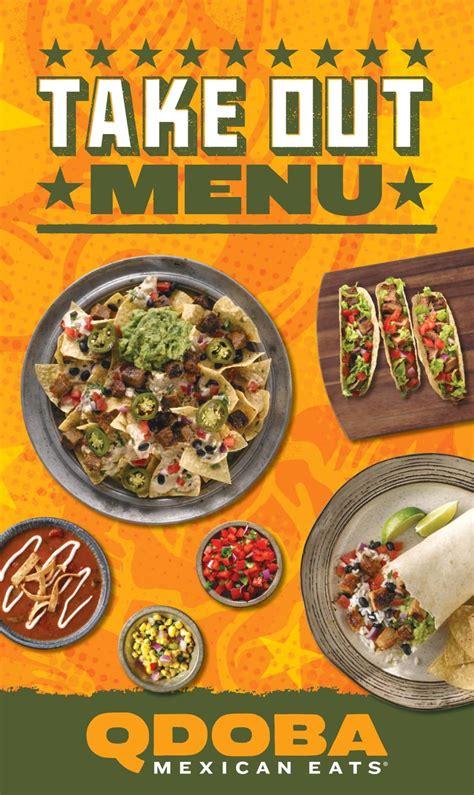 qdoba menu  specials