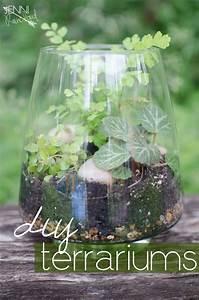 How To Make Jar Labels Gorgeous Diy Terrariums Raincloud
