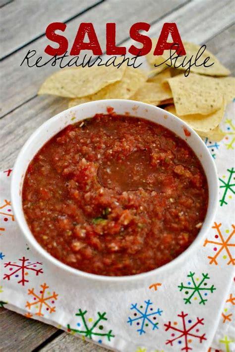 cuisine salsa restaurant style salsa recipe dishmaps