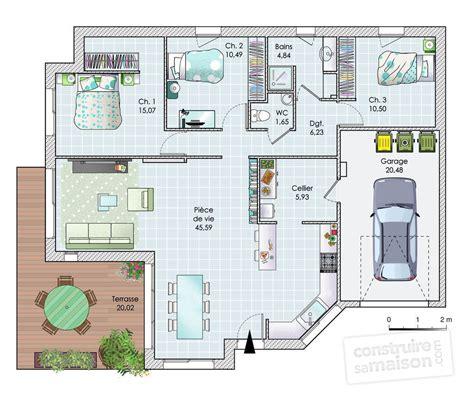 tapis cuisine noir maison de plain pied en vendée dé du plan de maison de plain pied en vendée faire