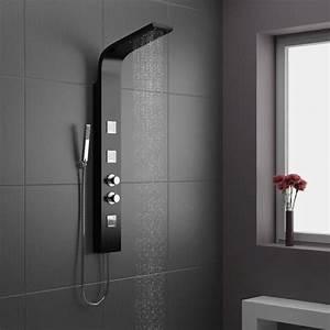 Colonne Salle De Bain Noir : d couvrir la meilleure colonne de douche en 53 photos ~ Teatrodelosmanantiales.com Idées de Décoration